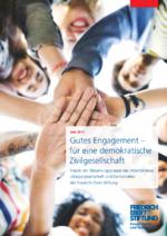 Gutes Engagement - für eine demokratische Zivilgesellschaft