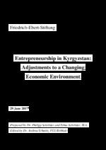 Entrepreneurship in Kyrgyzstan