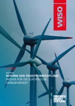 Reform der Ökostromrichtlinie