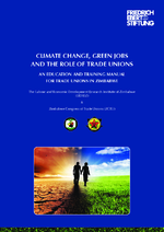 Climate change, green jobs and the role of trade unions