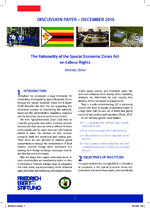 The rationality of the Special Economic Zones Act on Labour Rights