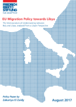 EU migration policy towards Libya