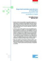 Seguridad ciudadana para jóvenes en Costa Rica