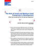 The role of small and medium-sized enterprises in development