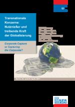 Transnationale Konzerne: Nutznießer und treibende Kraft der Globalisierung
