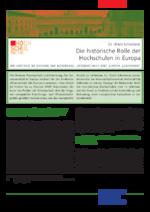 Die historische Rolle der Hochschulen in Europa