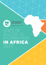State of access to information in Africa 2017