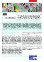 Privatschulen in Deutschland - neue Studie zu Trends und Leistungsvergleichen