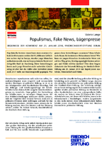 Populismus, Fake News, Lügenpresse