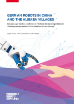 German robots in China and the Alibaba villages