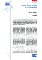 Sobre o alcance histórico da eleição de AMLO