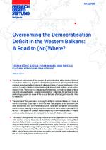 Overcoming the democratisation deficit in the Western Balkans