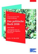"""Timo Daum """"Das Kapital sind wir. Zur Kritik der digitalen Ökonomie"""""""