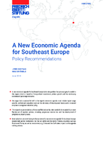 A new economic agenda for Southeast Europe
