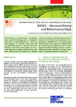 BAföG - Neuausrichtung und Reformvorschläge