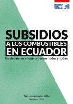 Subsidios a los combustibles en Ecuador