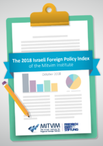The 2018 Israeli foreign policy index of the Mitvim Institute