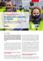 Poverty and inequality in Europe