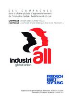 Des campagnes dans la chaîne globale d'approvisionnement de l'industrie textile, habillement et cuir