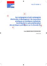 Les campagnes et pré-campagnes électorales à Madagascar