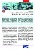 Seiten- und Quereinsteigter ̲ innen an Schulen in den 16 Bundesländern