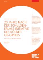 20 Jahre nach der Schuldenerlass-Initiative des Kölner G8-Gipfels