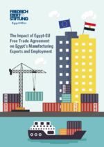 The impact of Egypt-EU free trade agreement on Egypt's manufacturing exports and employment
