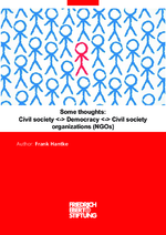 Some thoughts: Civil society <-> democracy <-> civili society organizations (NGOs)