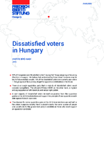 Dissatisfied voters in Hungary