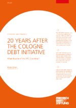 20 years after the Cologne Debt Initiative