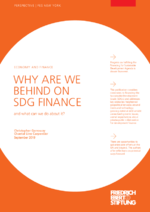 Why are we behind on SDG finance and what can we do about it?
