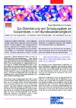 Zur Orientierung von Schulausgaben an Sozialindizes - ein Bundesländervergleich