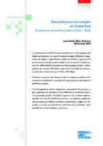 Diversificación del empleo en Costa Rica