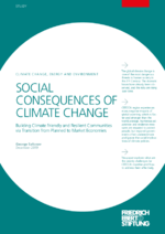 Social consequences of climate change