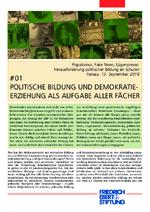 Politische Bildung und Demokratie - Erziehung als Aufgabe aller Fächer