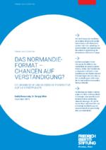 Das Normandie-Format - Chancen auf Verständigung?
