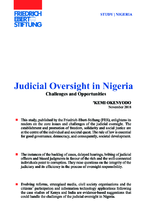 Judicial oversight in Nigeria