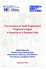 The inventory of youth employment programs in Egypt