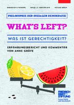 What's left? - Was ist Gerechtigkeit?