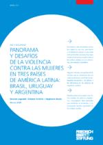 Panorama y desafíos de la violencia contra las mujeres en tres países de América Latina