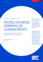 People on move deprived of human rights