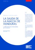 La salida de la maccih de Honduras