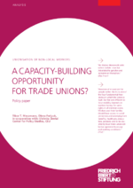 A capacity-building opportunity for trade unions?