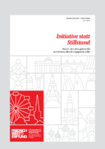 Initiative statt Stillstand