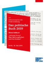 """Nikola Roßbach """"Achtung Zensur! Über Meinungsfreiheit und ihre Grenzen"""""""