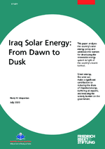 Iraq solar energy: from dawn to dusk