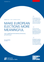 Make European elections more meaningful