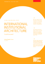 International institutional architecture