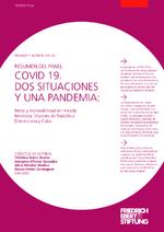 Covid 19. Dos situaciones y una pandemia