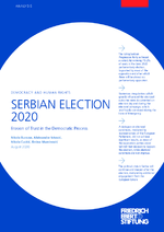 Serbian election 2020